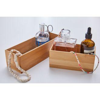 Organizer per cassetti in bamboo, 15x7,5x6,5 cm