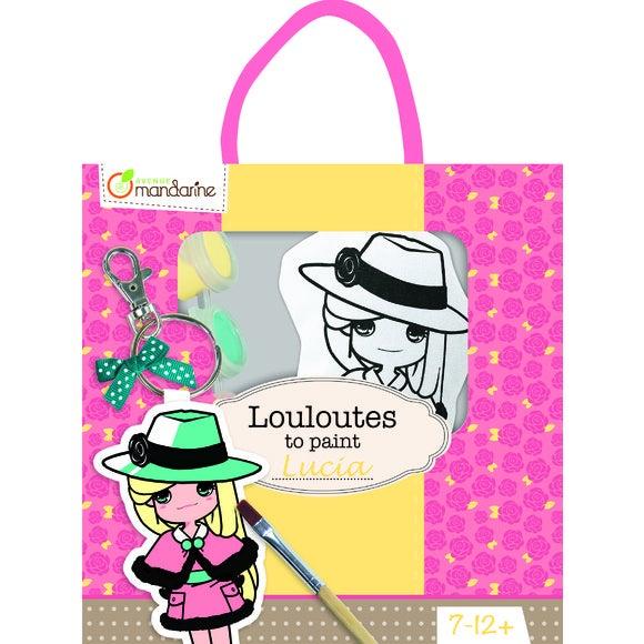 Achat en ligne Les Louloutes à peindre Lucia