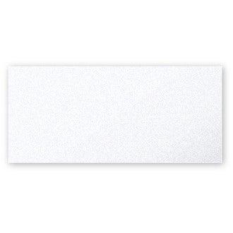 CLAIREFONTAINE - 25 Cartes simples Blanc Irisé 106x213 Pollen 210g
