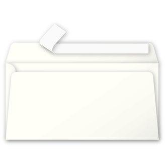 CLAIREFONTAINE - 20 Enveloppes Ivoire 110x220 Pollen Auto-adhésives 120g
