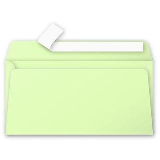 CLAIREFONTAINE - 20 Enveloppes Vert Bourgeon 110x220 Pollen Auto-adhésives 120g