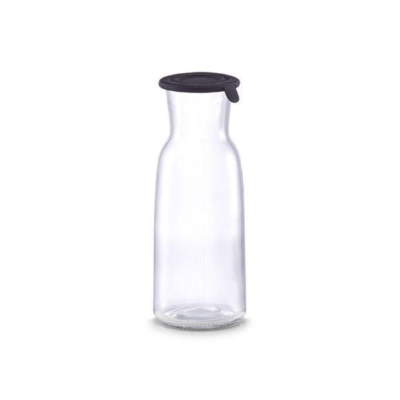 Bouteille en verre avec bouchon en silicone 0,7L