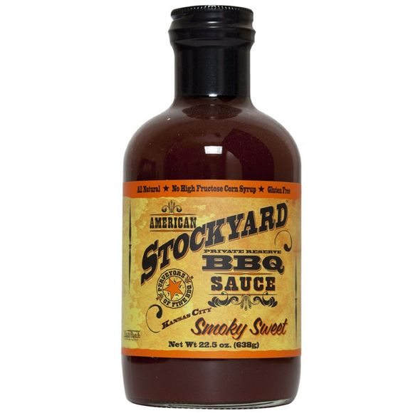 Achat en ligne BBQ Sauce Stockyard smoky sweet Kansas City 425 g