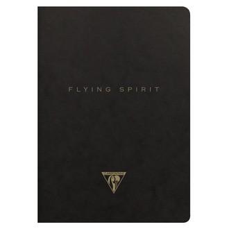 CLAIREFONTAINE - Indispensables carnet noir A5 96p