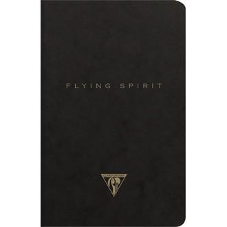 CLAIREFONTAINE - Indispensables carnet noir 11x17cm 96p