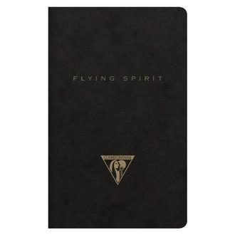 CLAIREFONTAINE - Indispensables carnet noir 7,5x12cm 48p