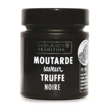 Achat en ligne Moutarde arôme de truffe noire pot noir 130g