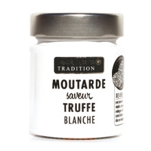 Achat en ligne Moutarde arôme de truffe blanche pot blanc 130 g