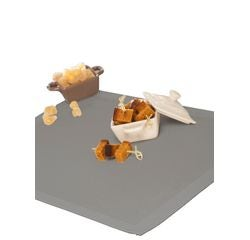 acquista online Tovaglietta americana grigio,  45x30 cm