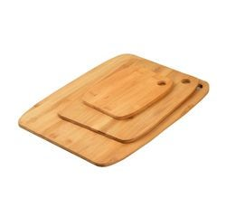 Achat en ligne Set 3 planches à découper bambou 37x28, 28,5x21,5 et 18,5x14