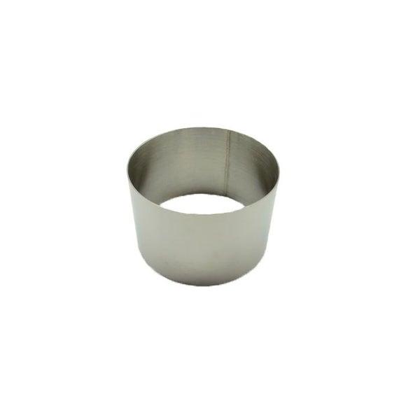 Achat en ligne Cercle à pâtisserie en inox 7cm haut 4,5cm