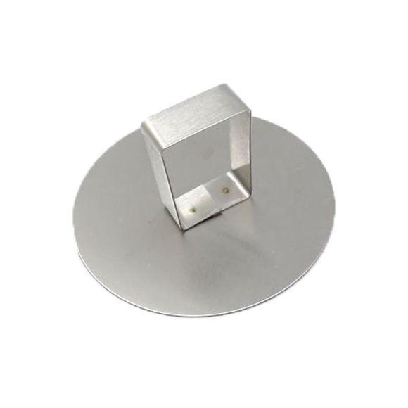 Poussoir pour cercle à pâtisserie en inox 9 cm