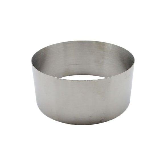 Achat en ligne Cercle à pâtisserie en inox 10cm haut 4,5cm
