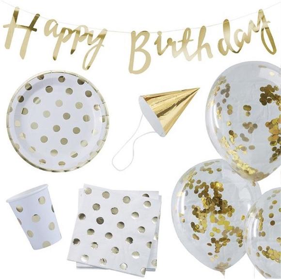 Achat en ligne Party box Happy birthday or