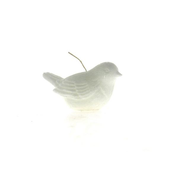 Achat en ligne Bougie oiseau blanc