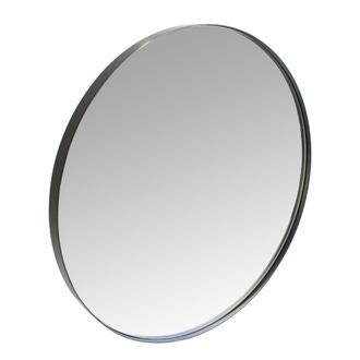 Miroir rond neutral noir 40 cm