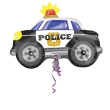 Achat en ligne Ballon hélium voiture de police
