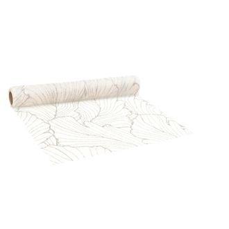 Chemin de table beauyante crème 0,7x2.5m