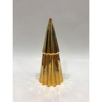 Sapin décoratif doré 18 cm