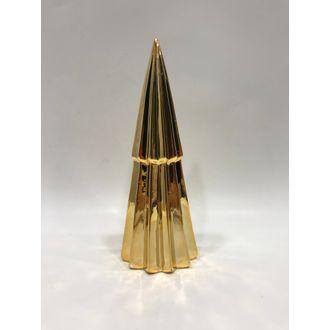 Sapin décoratif doré 25 cm