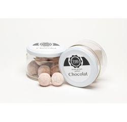 Achat en ligne Boules de bain effervescentes chocolat 100g