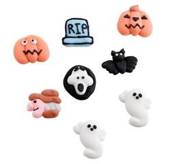 Achat en ligne 8 décors sucre Halloween