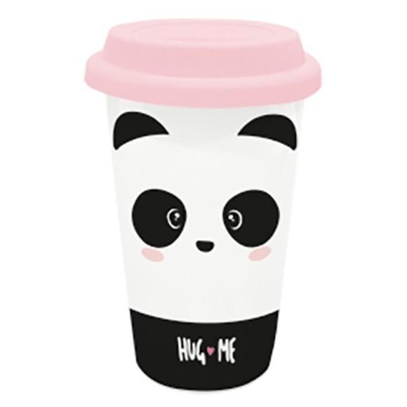Travel mug panda