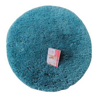 Tapis de bain rond 55x55cm en coton tufté postal