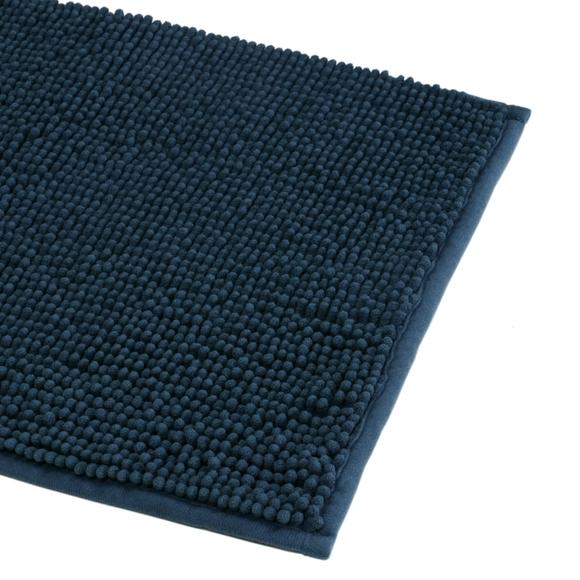 Achat en ligne Tapis de bain 60x90cm en microfibre chenille  tempête