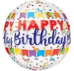 Achat en ligne Ballon birthday Orbz