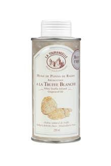 Huile de pépin de raisin aromatisée à la truffe blanche 250ml