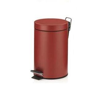 Poubelle 3l rouge