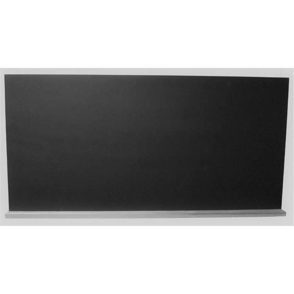 Achat en ligne Tableau écolier noir avec rebord bois 60x120cm + une éponge