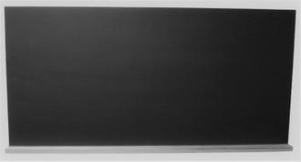Tableau écolier noir avec rebord bois 60x120cm + une éponge