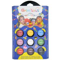 Achat en ligne Palettes de maquillage pour enfant 9 couleurs