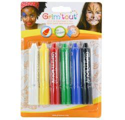 Achat en ligne Sticks de maquillage pour enfant 6 Couleurs basiques