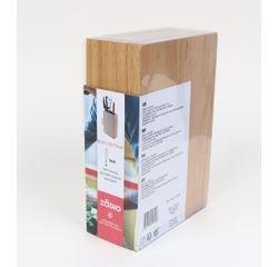 Achat en ligne Bloc couteaux universel rectangle bois clair