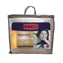 Achat en ligne Couette 200x200cm tempérée 50% de duvet canard