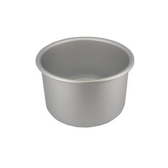 Moule à manqué rond en aluminium 15cm bord haut 10cm