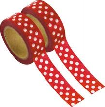 Achat en ligne Masking tape rouge a pois