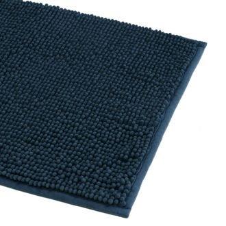 Tapis de bain 40x60cm en microfibre chenille tempête