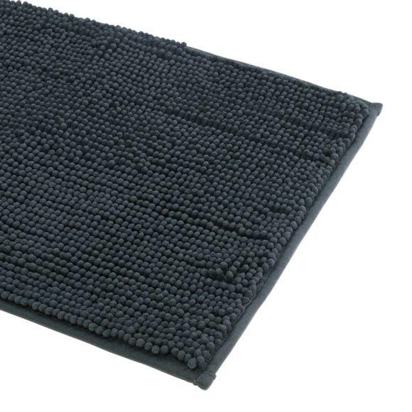 Achat en ligne Tapis de bain 60x90cm en microfibre chenille caviar