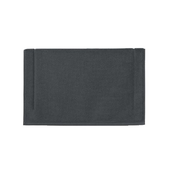acquista online Tappeto da bagno quadrato in spugna di cotone grigio 60x60cm