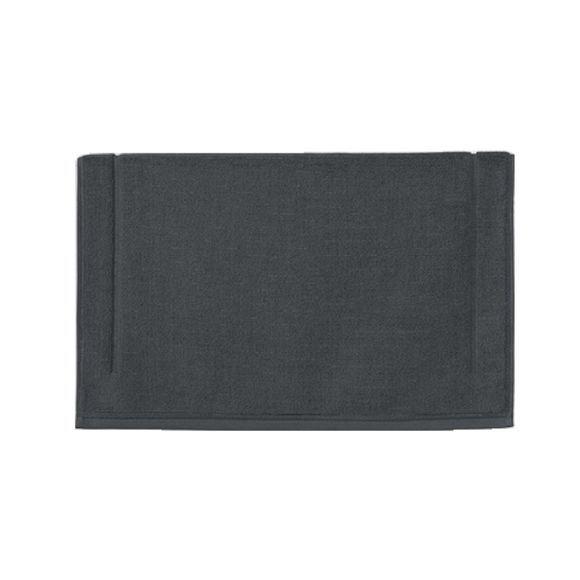 Achat en ligne Tapis de bain 60x100cm en coton éponge gris foncé