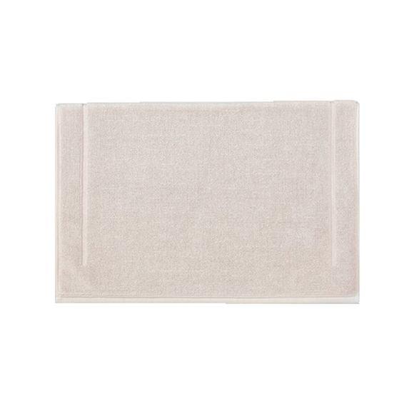 compra en línea Alfombra de baño de felpa algodón rosa claro (60 x 100 cm)
