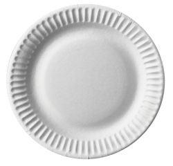 Achat en ligne 100 assiettes rondes en carton blanc ø 15 cm