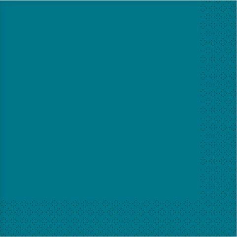 acquista online Tovaglioli di carta petrolio 20pz. 33X33cm