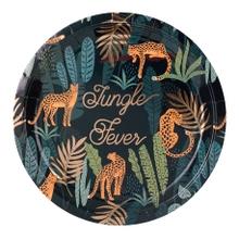 Achat en ligne  8 assiettes jungle fever
