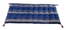 Achat en ligne Futon rayé bleu Majorelle 60x120cm