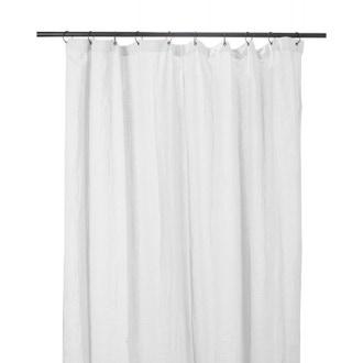 Rideaux dili en coton blanc 120x280cm